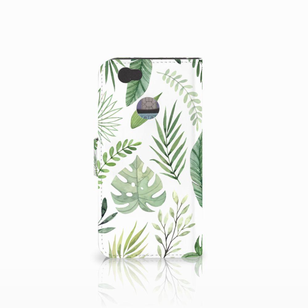 Huawei Nova Hoesje Leaves
