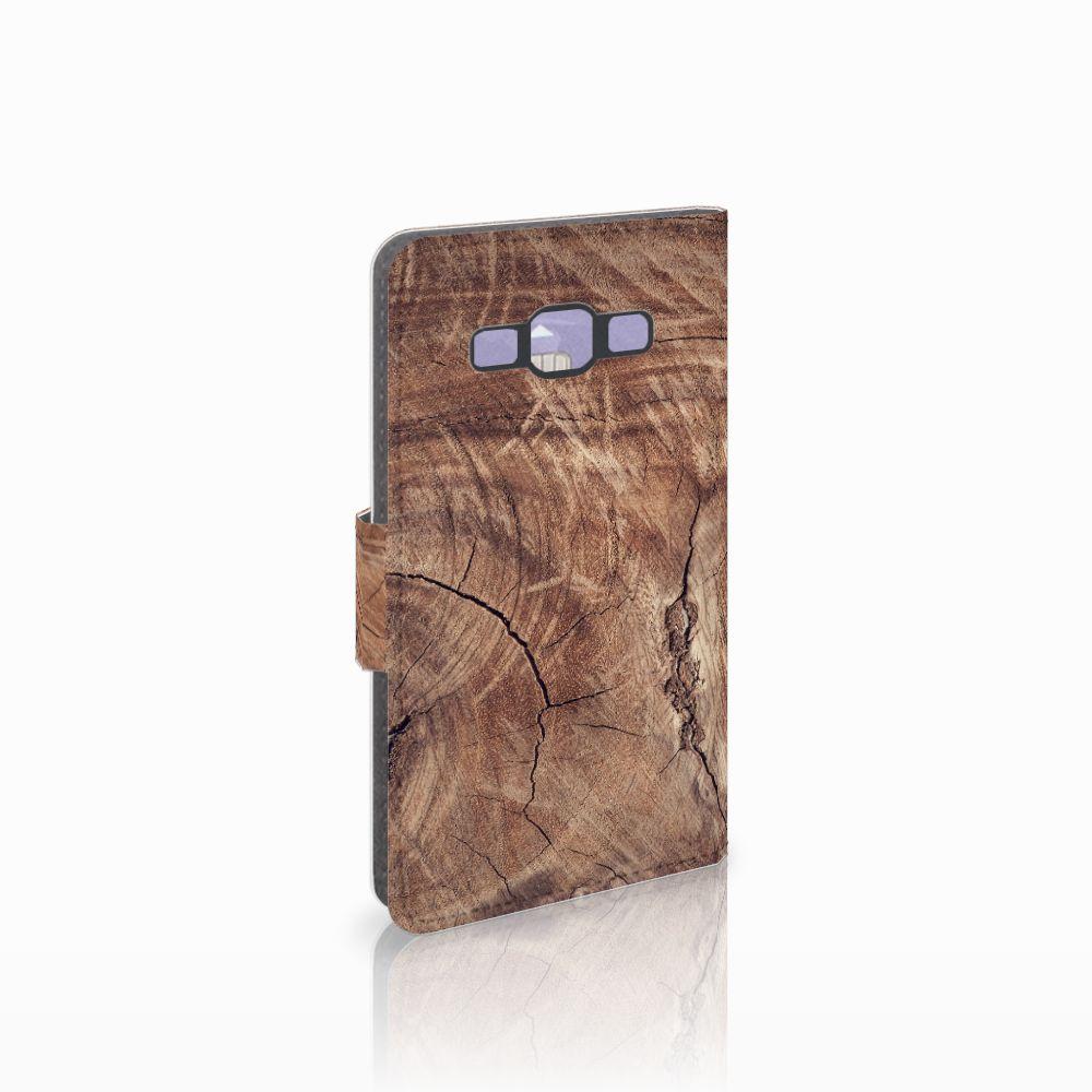 Samsung Galaxy A3 2015 Boekhoesje Design Tree Trunk