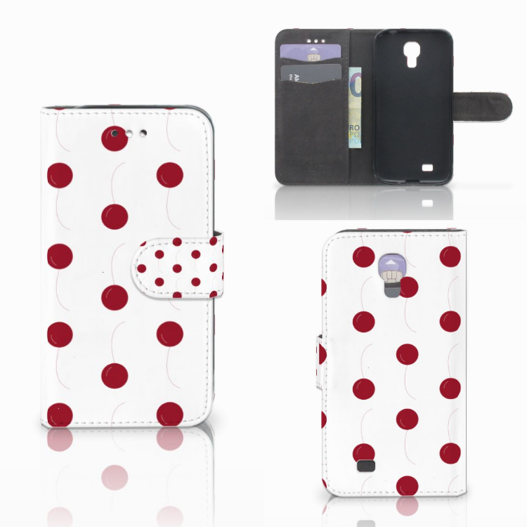 Samsung Galaxy S4 Book Cover Cherries