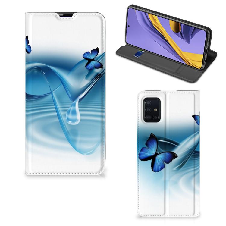 Samsung Galaxy A51 Hoesje maken Vlinders
