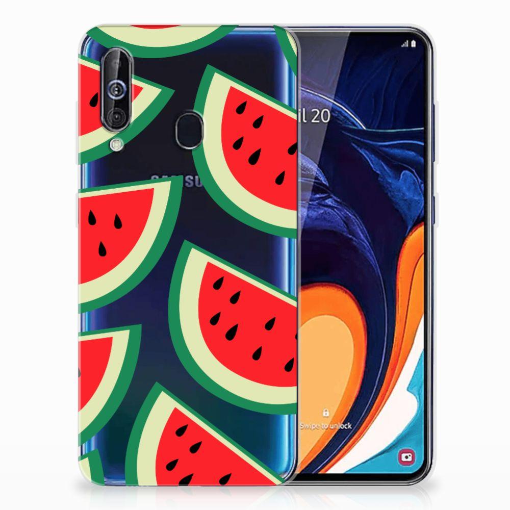 Samsung Galaxy A60 Siliconen Case Watermelons