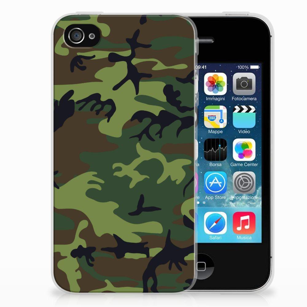 Apple iPhone 4 | 4s TPU bumper Army Dark