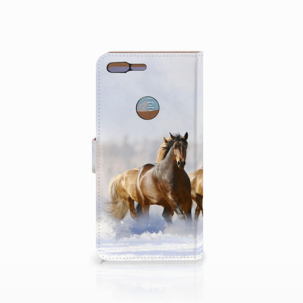 Google Pixel XL Telefoonhoesje met Pasjes Paarden