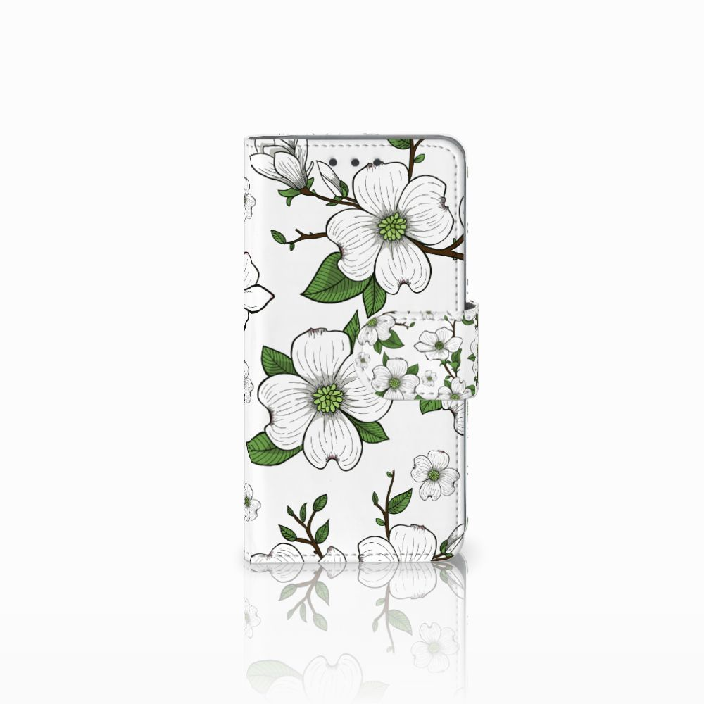 Samsung Galaxy A3 2015 Boekhoesje Design Dogwood Flowers
