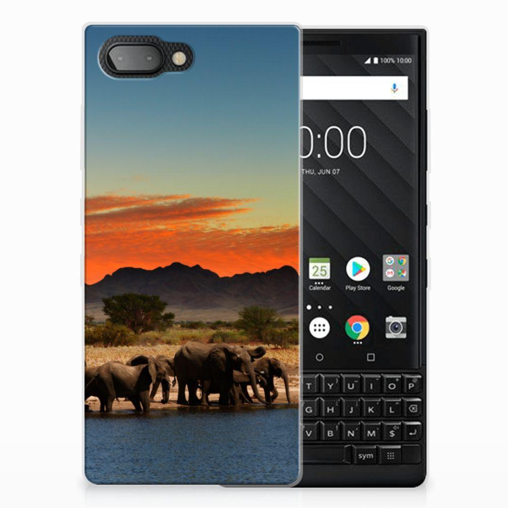 BlackBerry Key2 Leuk Hoesje Olifanten