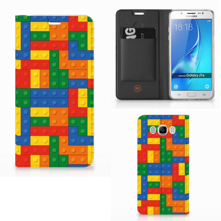 Samsung Galaxy J7 2016 Uniek Hoesje Blokken