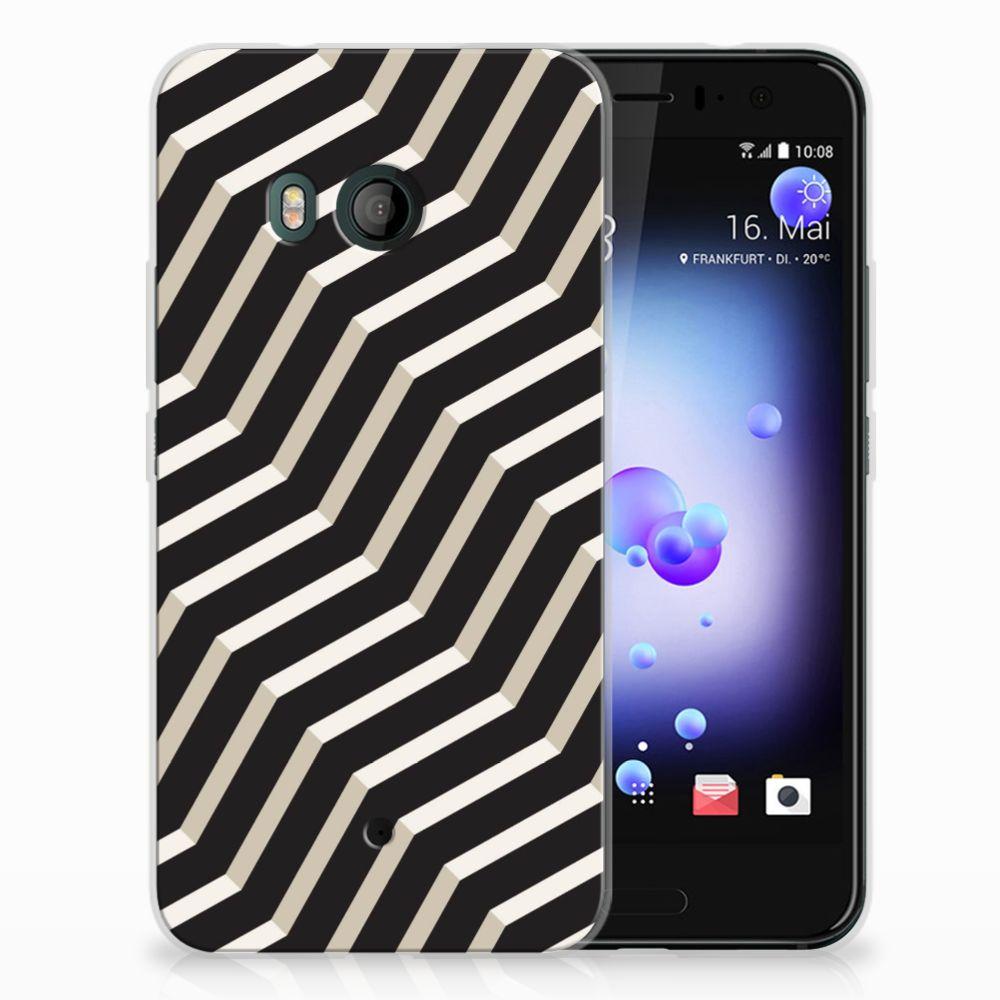 HTC U11 TPU Hoesje Design Illusion