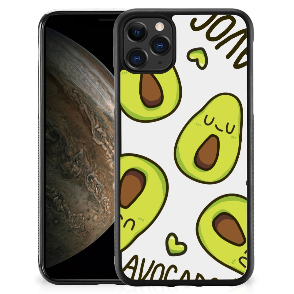 Apple iPhone 11 Pro Bumper Hoesje Avocado Singing