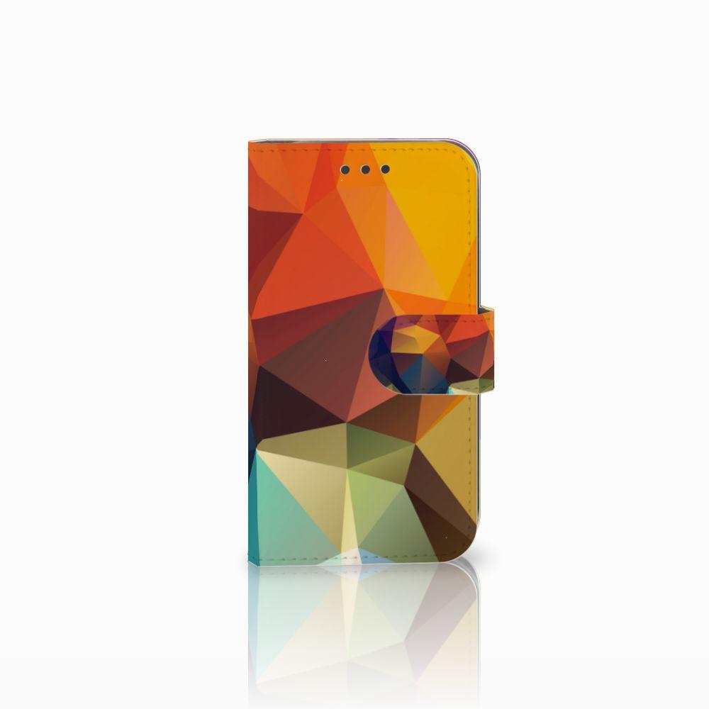 Samsung Galaxy S3 i9300 Bookcase Polygon Color