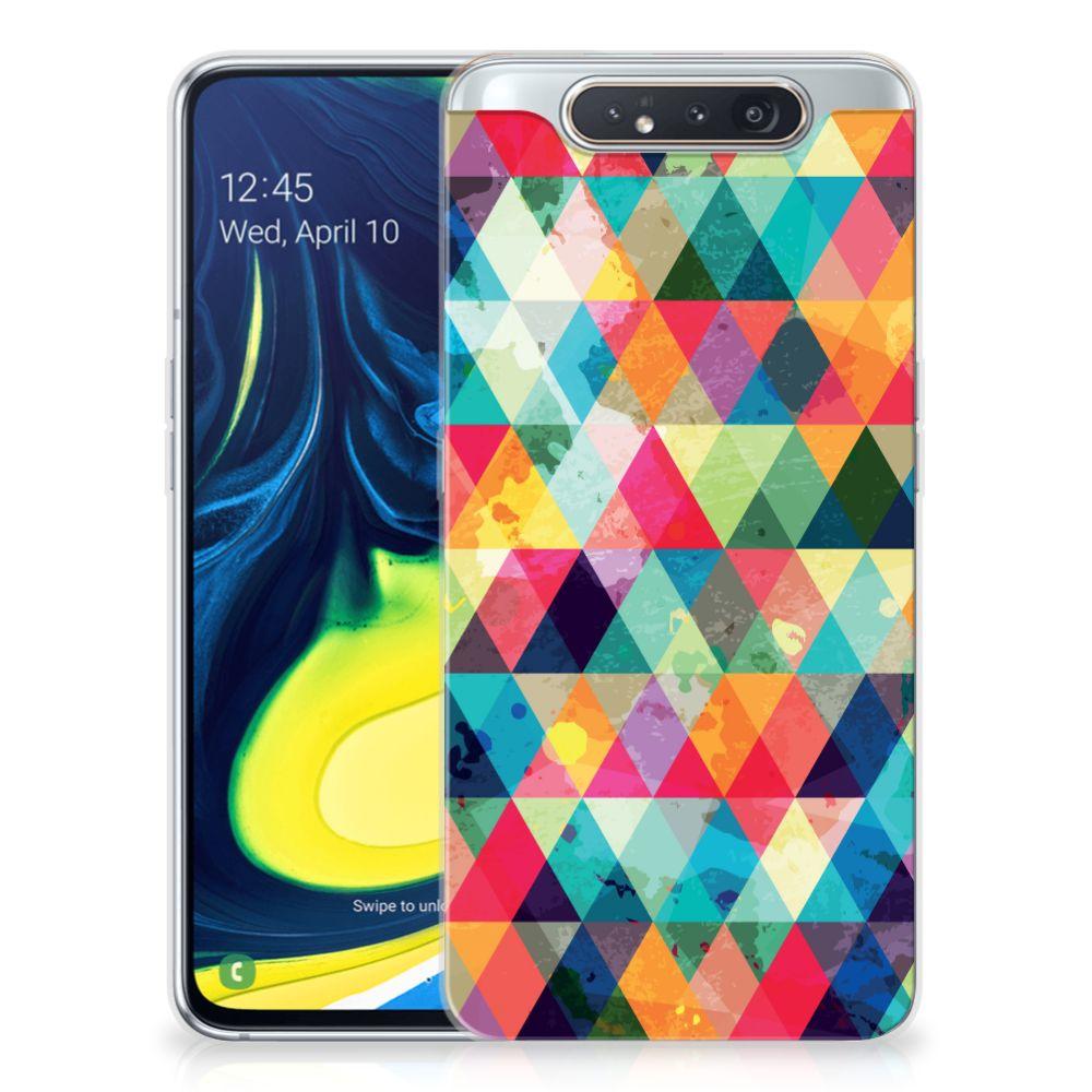 Samsung Galaxy A80 TPU bumper Geruit