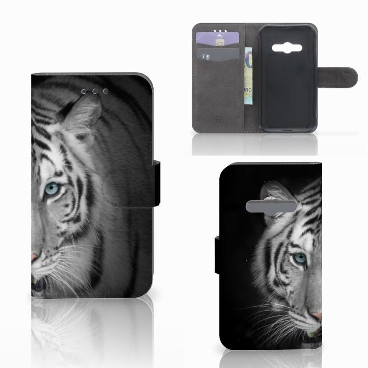 Samsung Galaxy Xcover 3 | Xcover 3 VE Telefoonhoesje met Pasjes Tijger