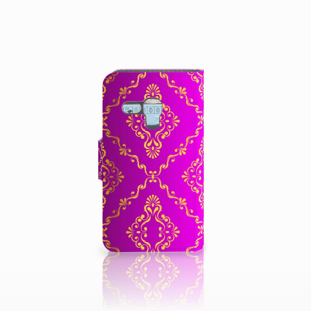 Wallet Case Samsung Galaxy S3 Mini Barok Roze