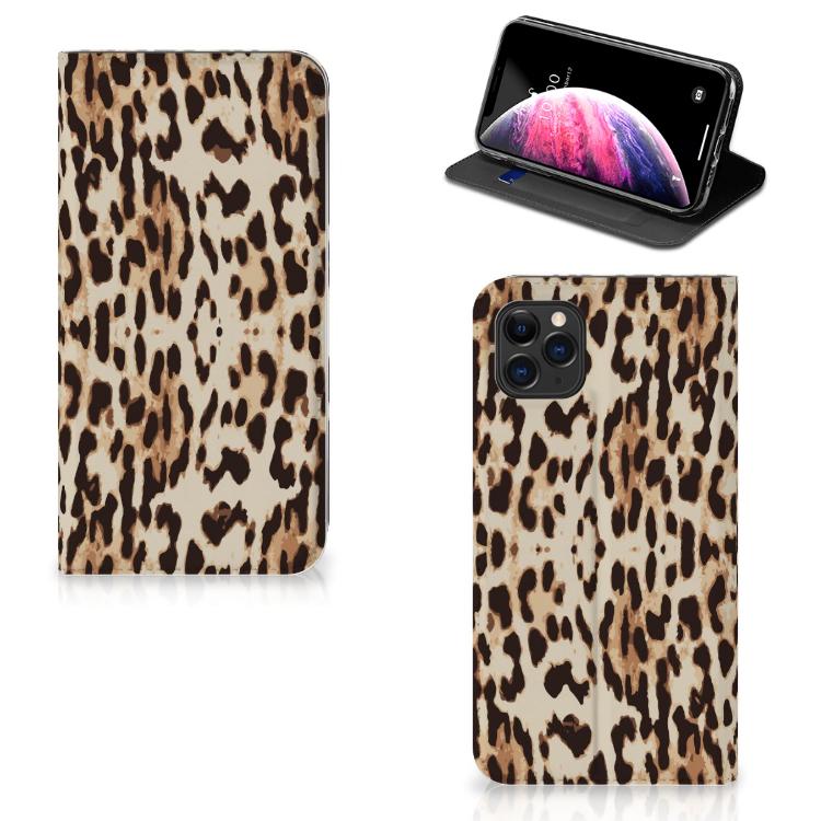 Apple iPhone 11 Pro Max Hoesje maken Leopard