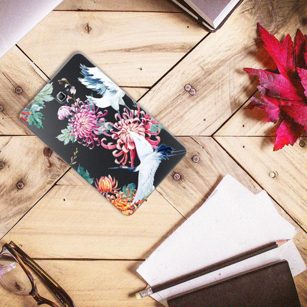 Samsung Galaxy Tab A 10.1 Back Case Bird Flowers