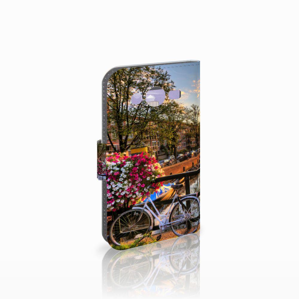 Samsung Galaxy Core 2 Uniek Boekhoesje Amsterdamse Grachten