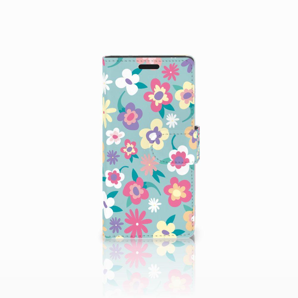 LG Leon 4G Boekhoesje Design Flower Power