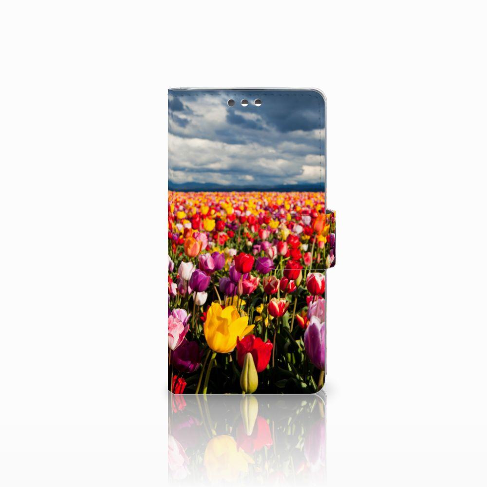 LG K8 Uniek Boekhoesje Tulpen