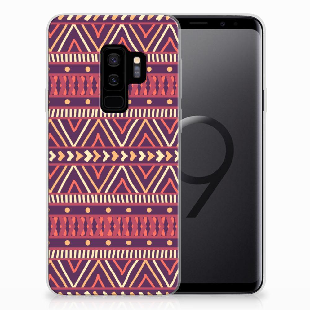 Samsung Galaxy S9 Plus TPU bumper Aztec Paars