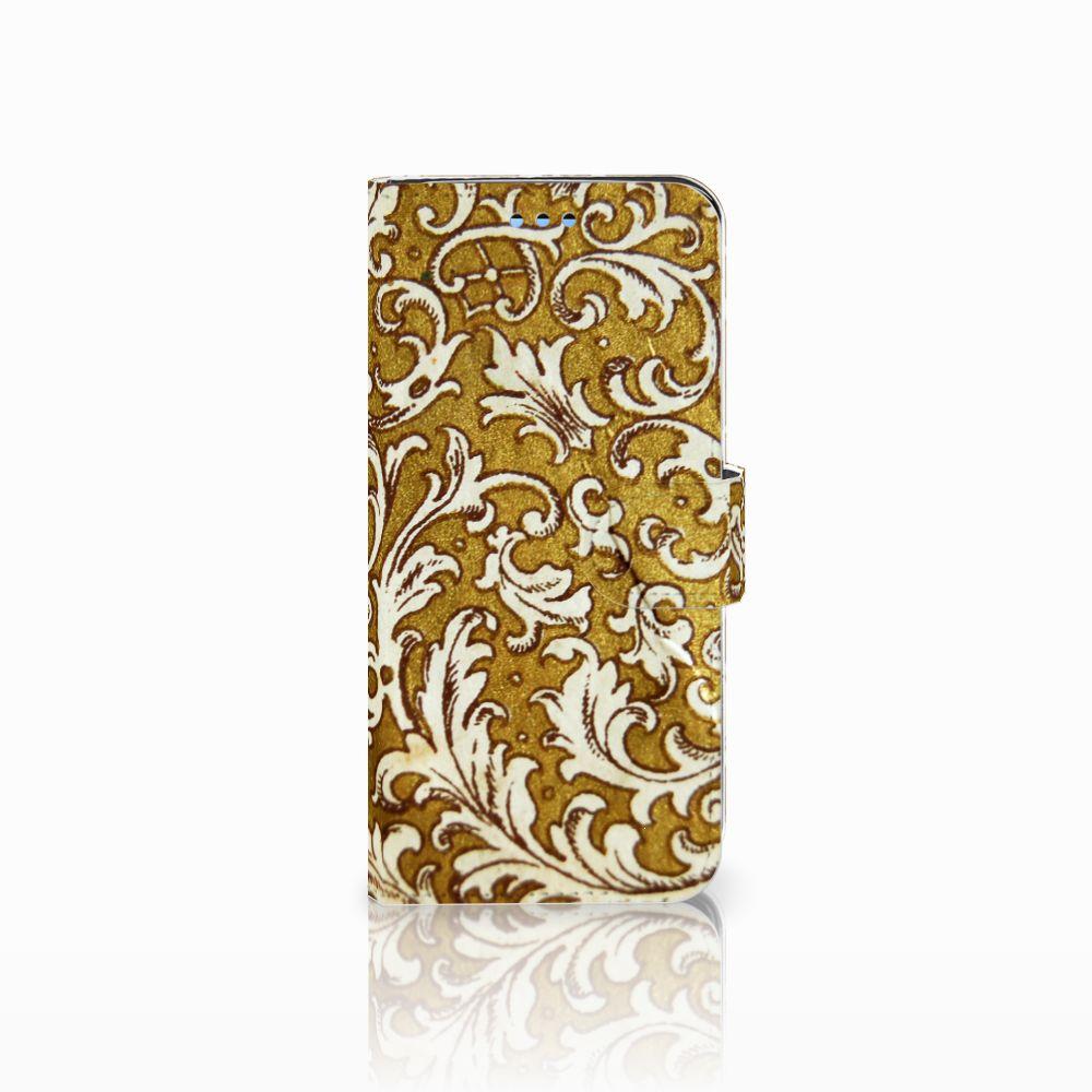 Samsung Galaxy S9 Boekhoesje Design Barok Goud