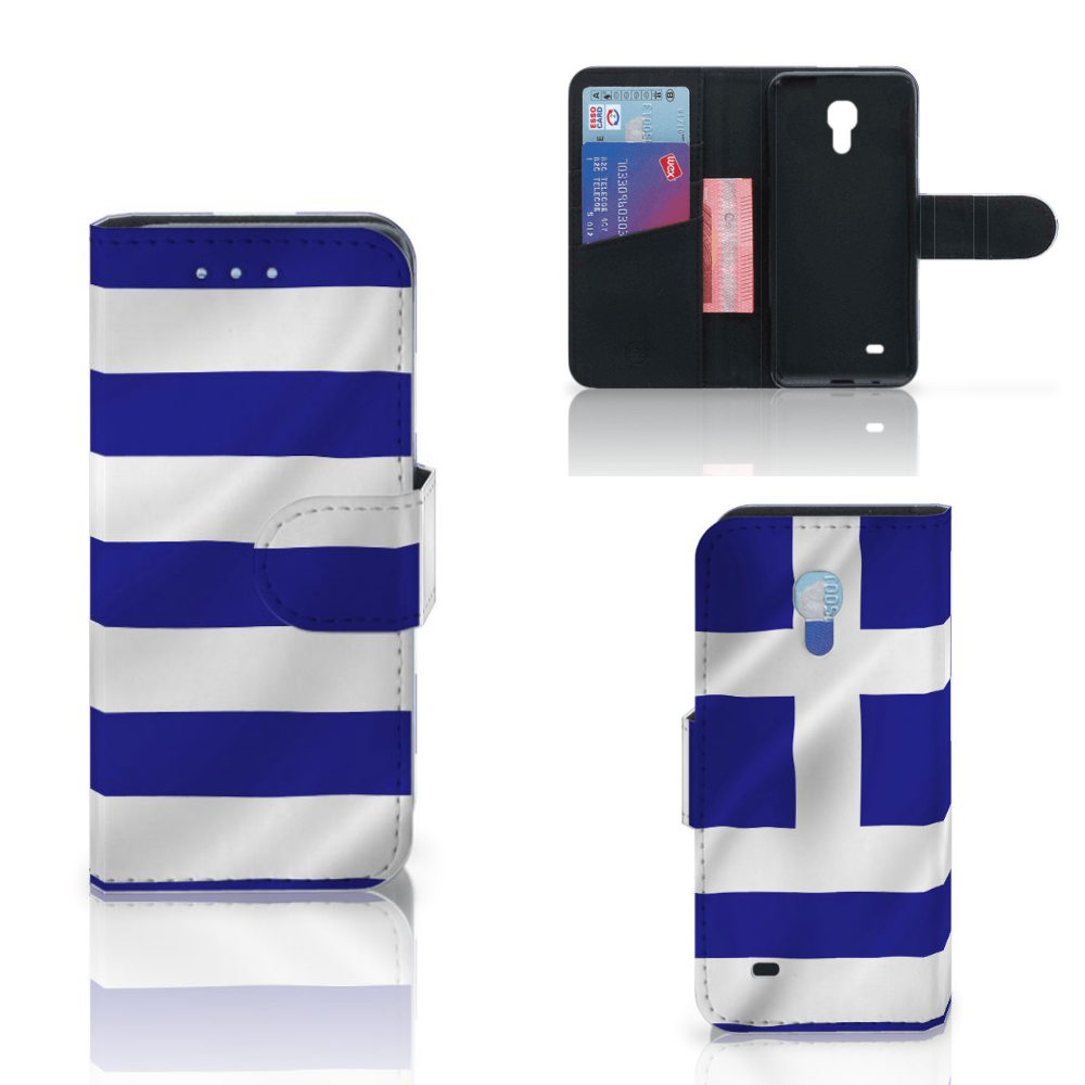 Samsung Galaxy S4 Mini i9190 Bookstyle Case Griekenland