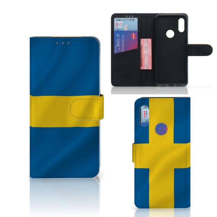 Xiaomi Redmi 7 Bookstyle Case Zweden