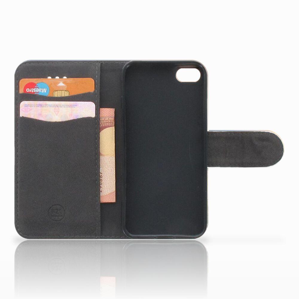 Apple iPhone 5C Telefoonhoesje met Pasjes Koe