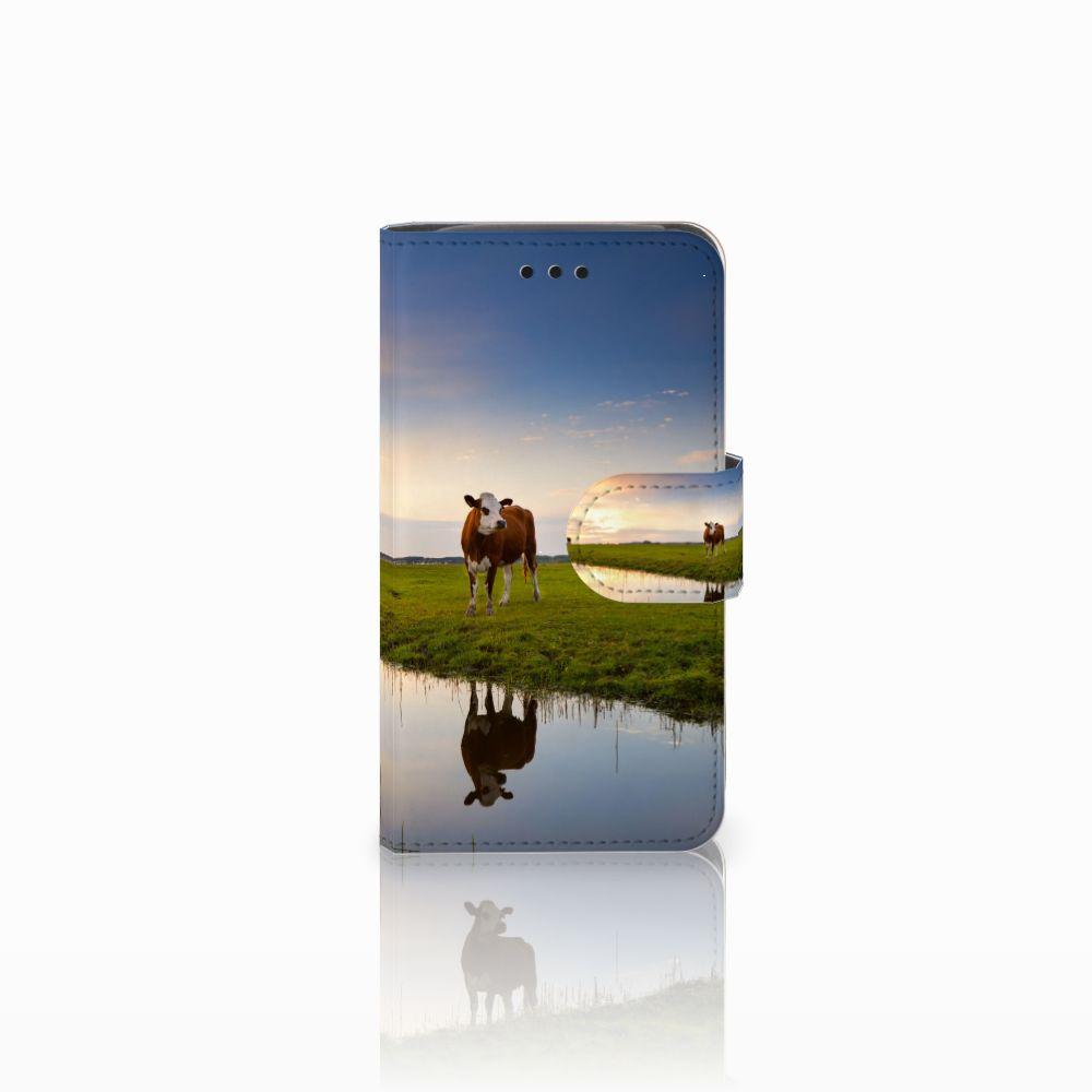 Samsung Galaxy Core i8260 Boekhoesje Design Koe