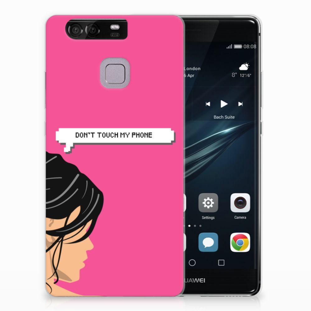 Huawei Ascend P9 Uniek TPU Hoesje Woman DTMP