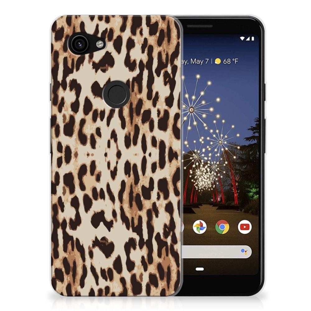 Google Pixel 3A TPU Hoesje Leopard