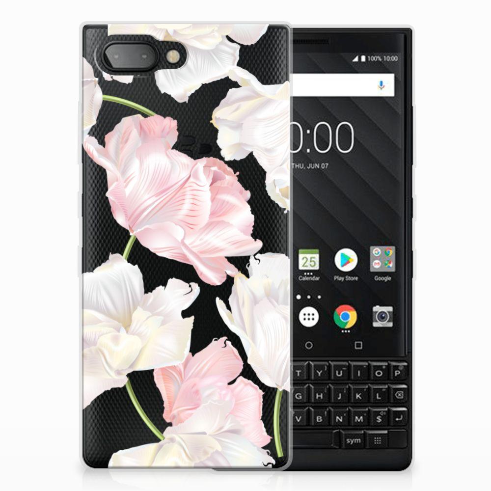 BlackBerry Key2 TPU Hoesje Design Lovely Flowers