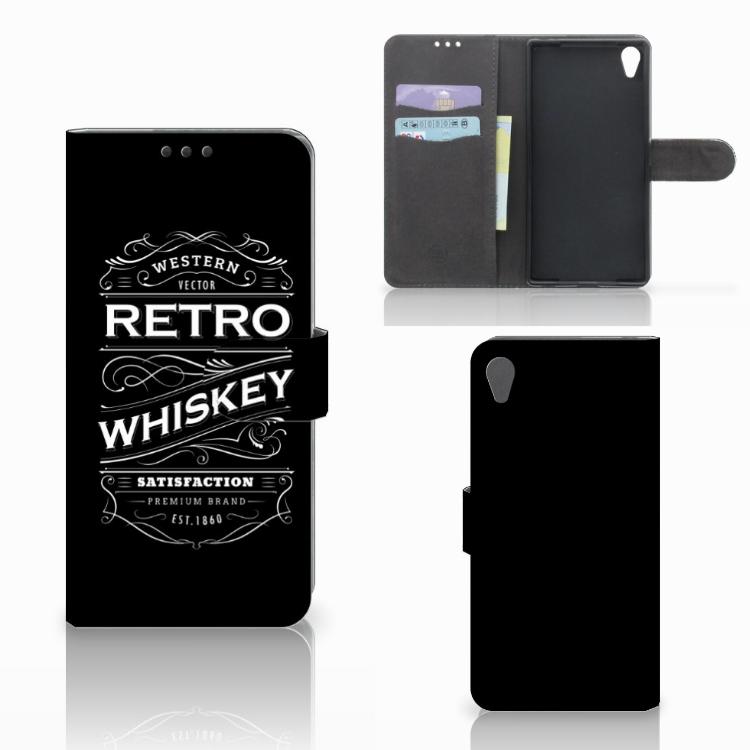 Sony Xperia Z5 Premium Book Cover Whiskey