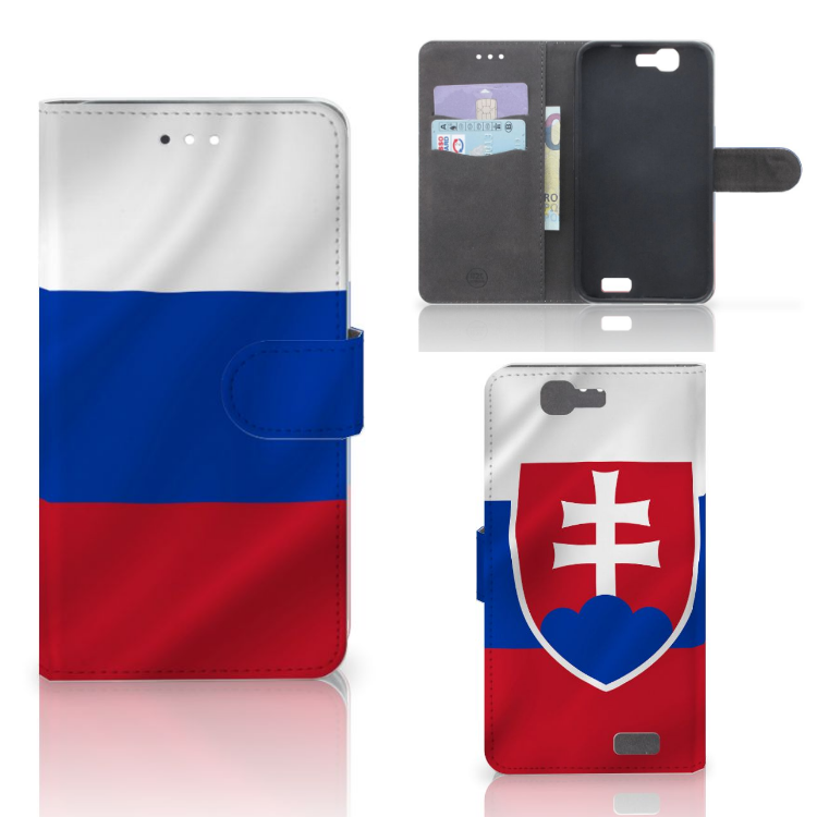 Huawei Ascend G7 Bookstyle Case Slowakije