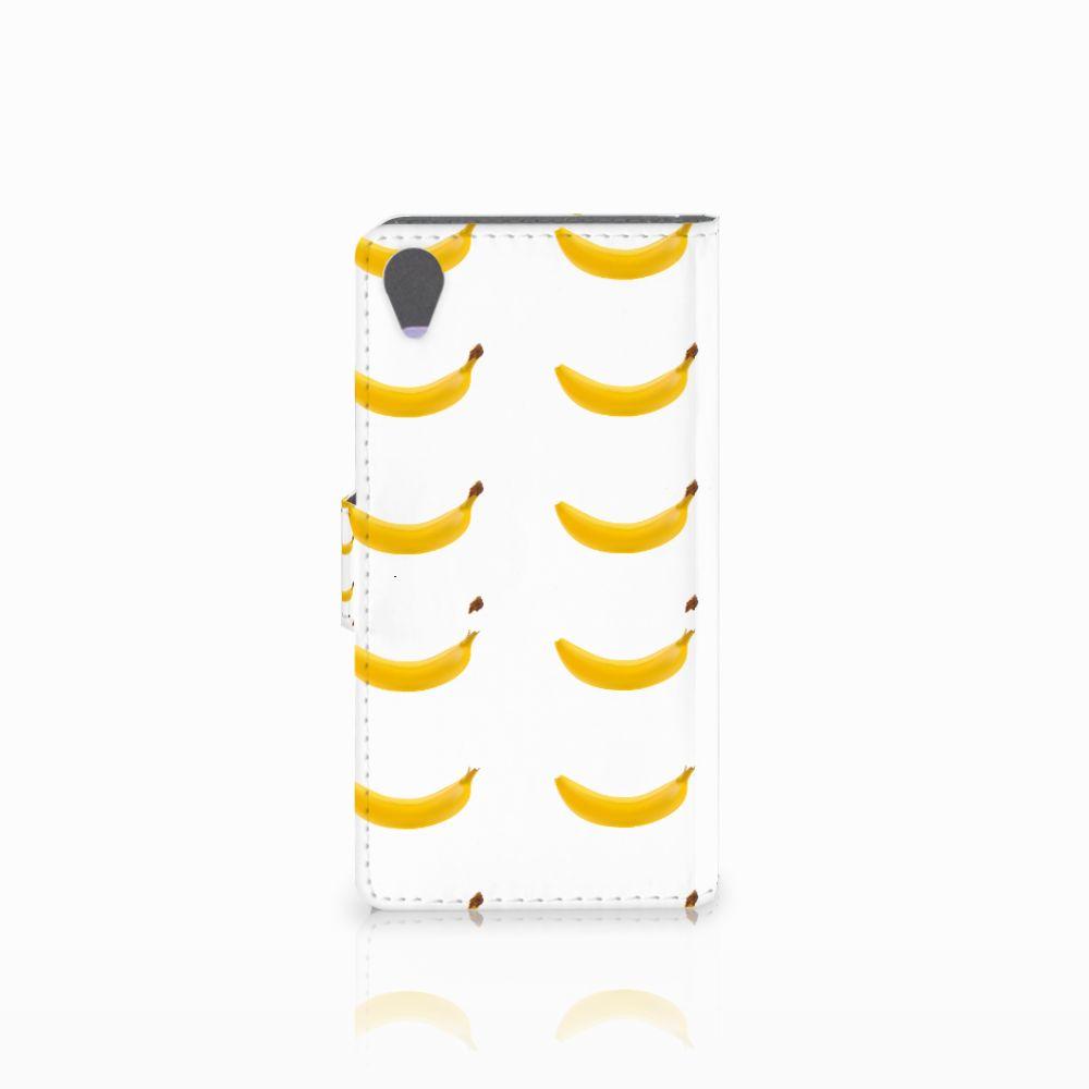 Sony Xperia X Book Cover Banana