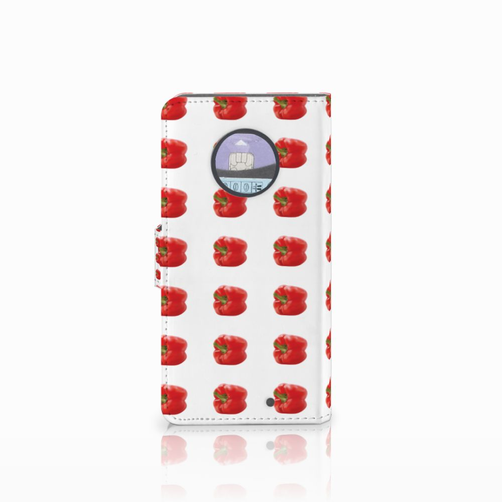 Motorola Moto X4 Book Cover Paprika Red