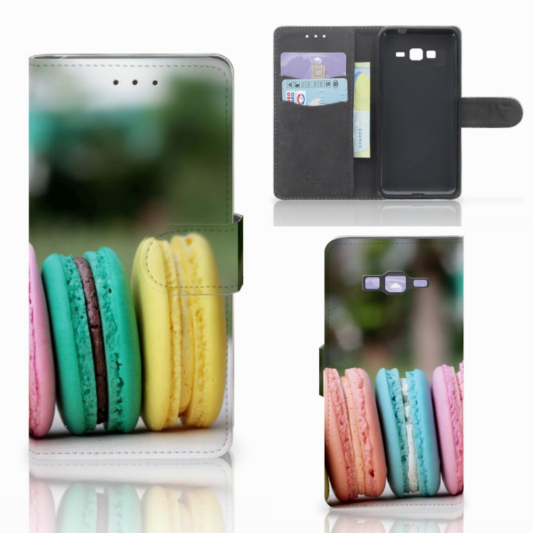 Samsung Galaxy Grand Prime | Grand Prime VE G531F Book Cover Macarons
