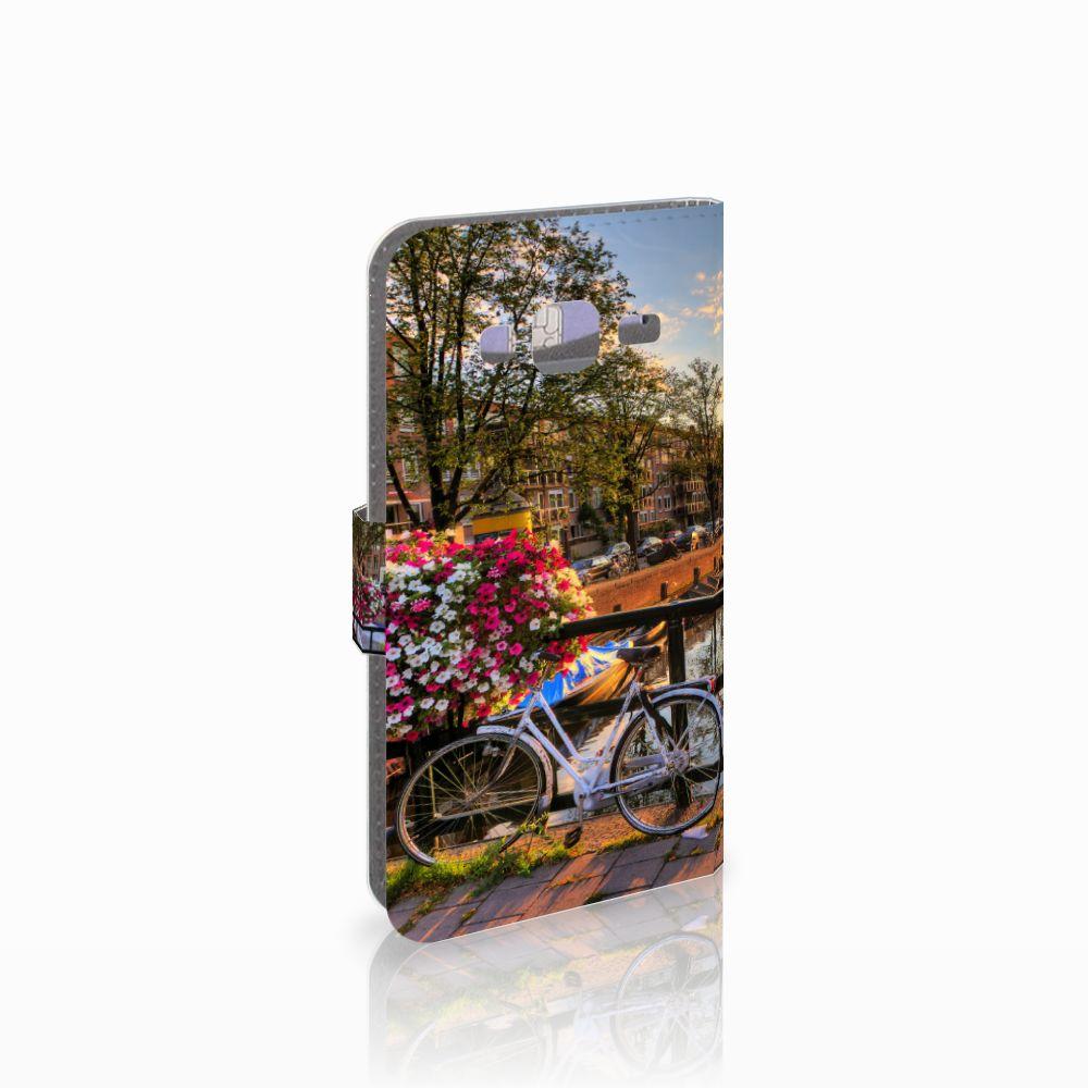 Samsung Galaxy J3 2016 Uniek Boekhoesje Amsterdamse Grachten