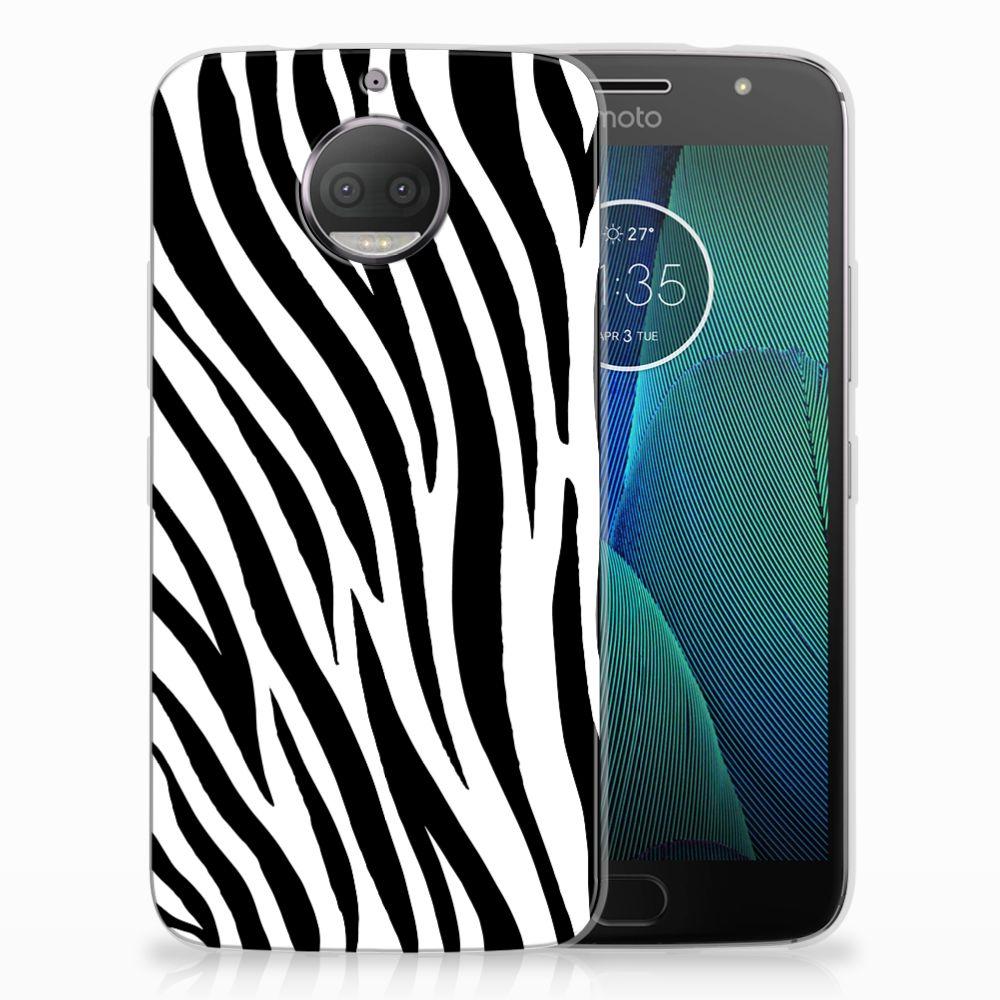 Motorola Moto G5S Plus Leuk Hoesje Zebra