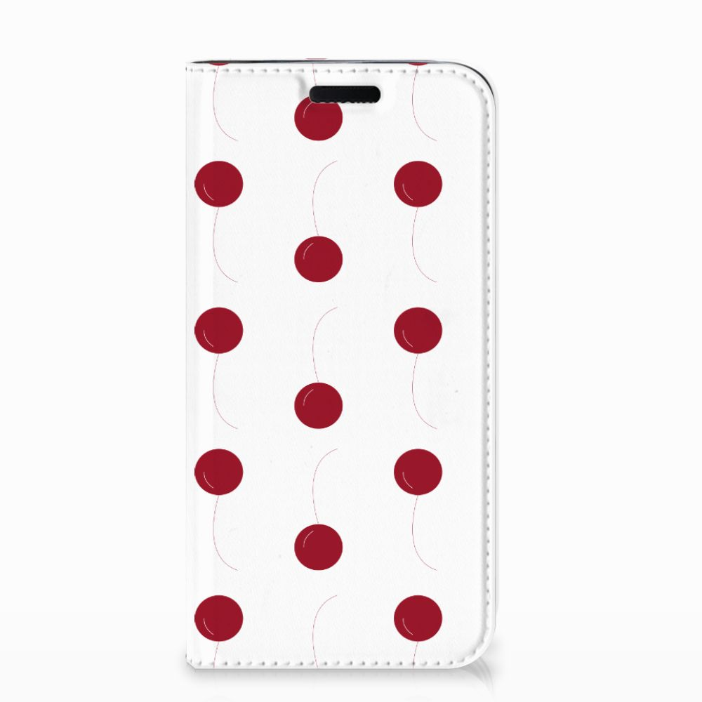Samsung Galaxy J3 2017 Flip Style Cover Cherries