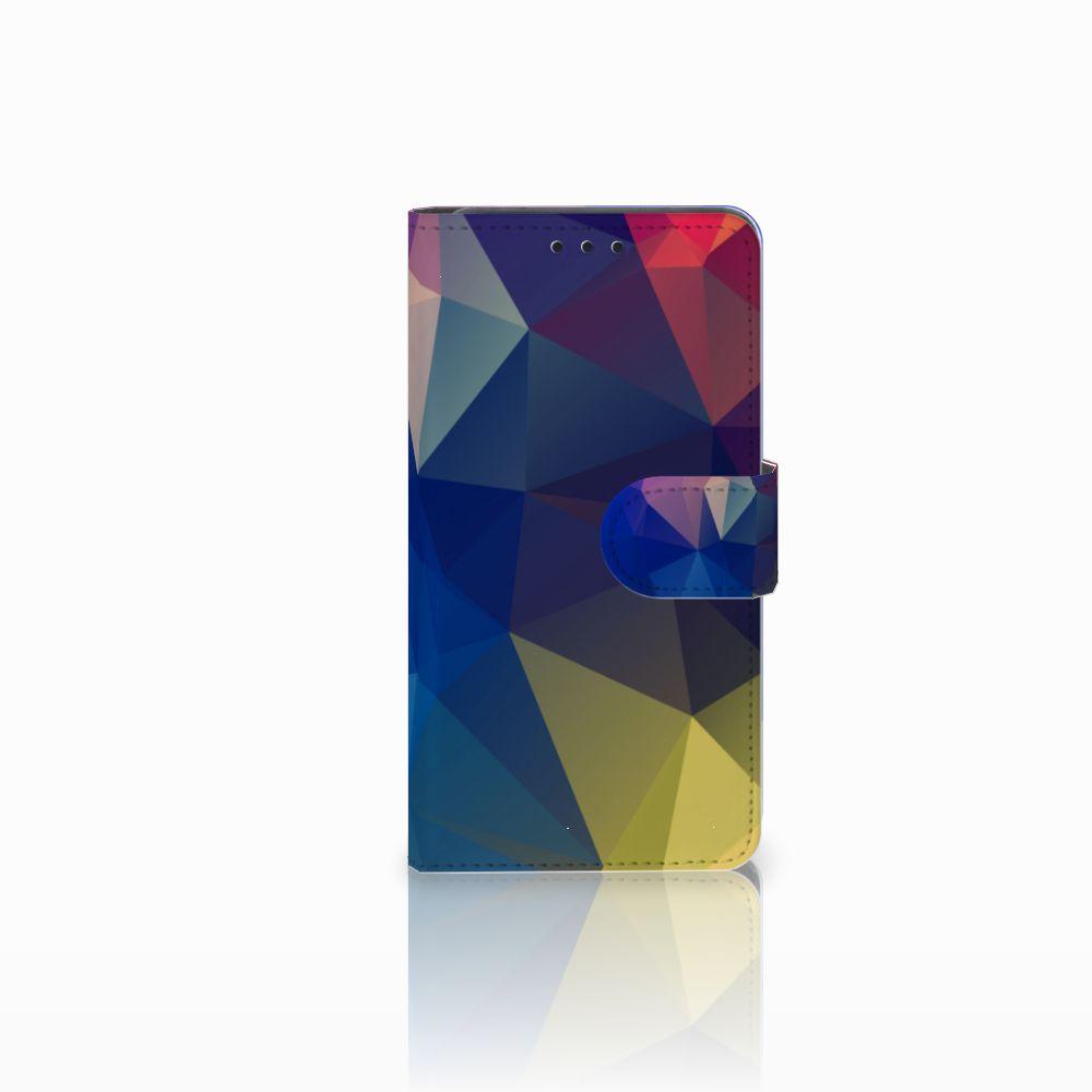 Huawei Y6 Pro 2017 Bookcase Polygon Dark