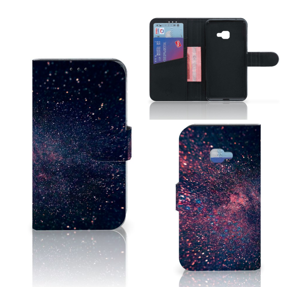 Samsung Galaxy Xcover 4 | Xcover 4s Bookcase Stars