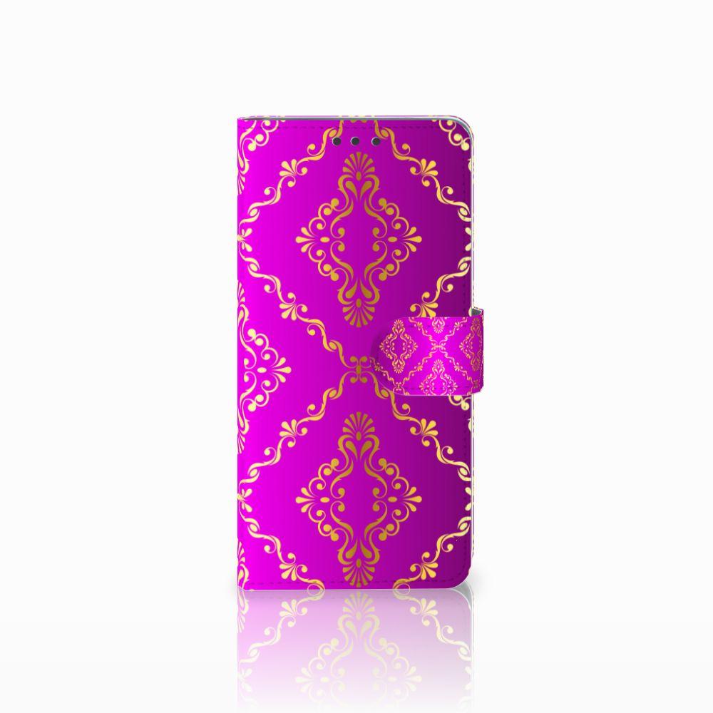 Wallet Case Huawei Mate 20 Barok Roze
