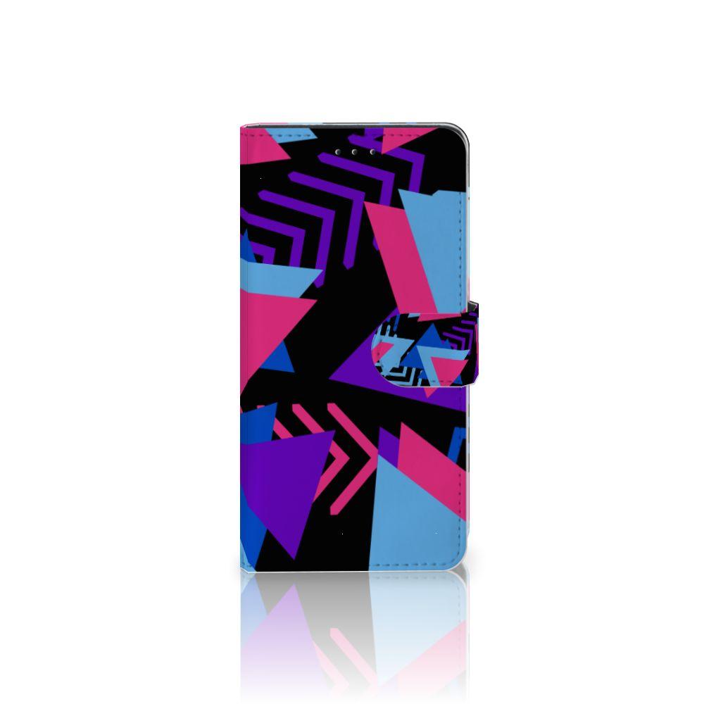 Motorola Moto Z2 Play Bookcase Funky Triangle