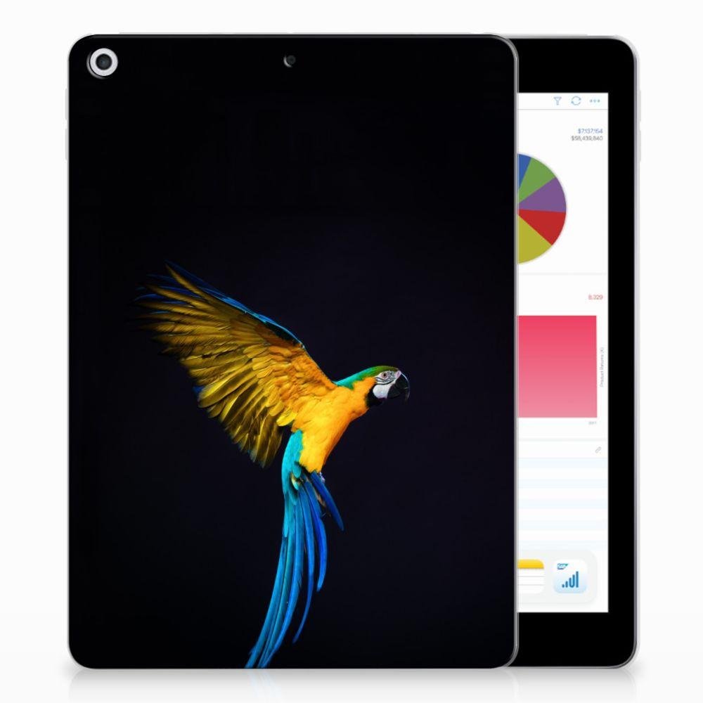 Apple iPad 9.7 2018   2017 Back Case Papegaai