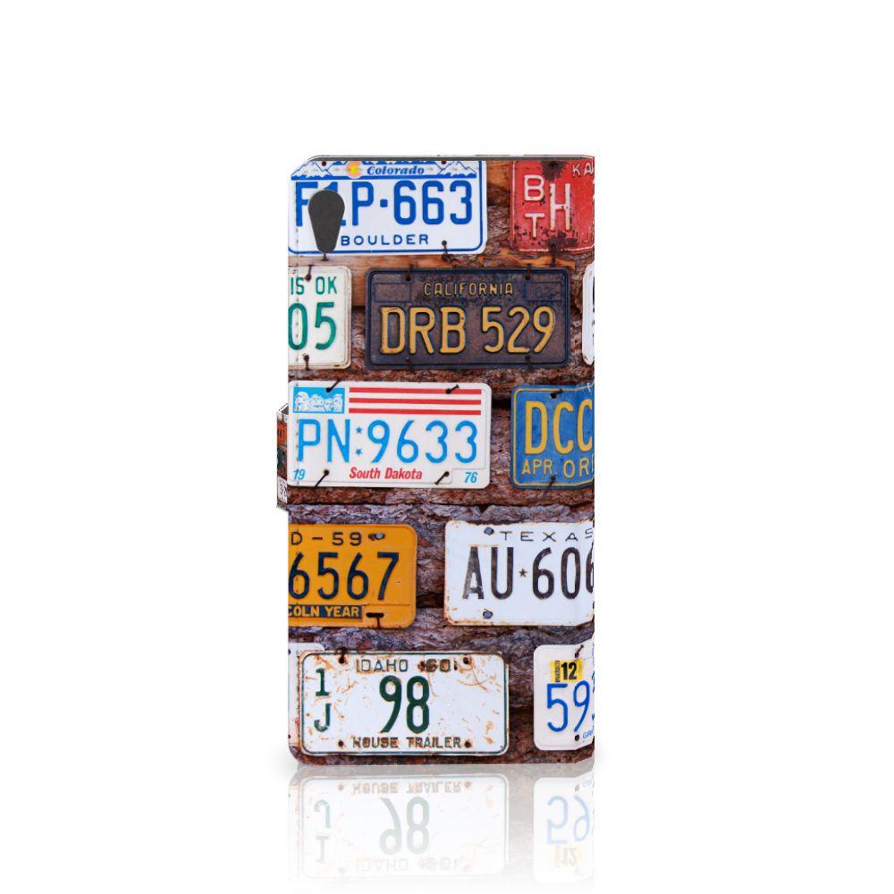 Sony Xperia XA Ultra Telefoonhoesje met foto Kentekenplaten