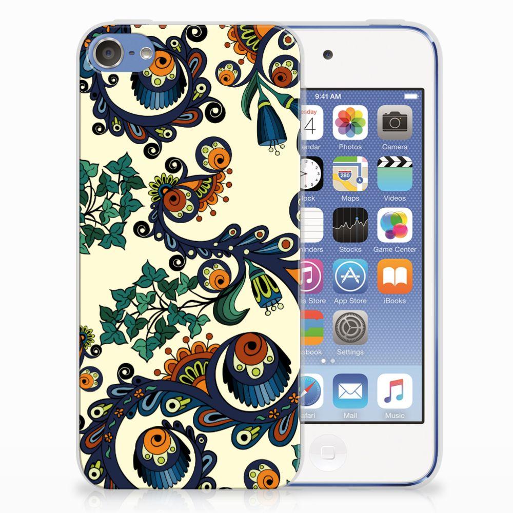 Siliconen Hoesje Apple iPod Touch 5 | 6 Barok Flower