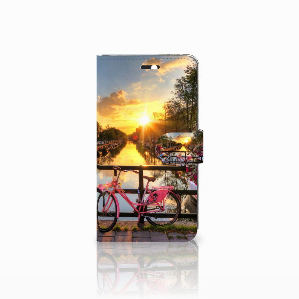 Huawei Y6 II | Honor 5A Uniek Boekhoesje Amsterdamse Grachten