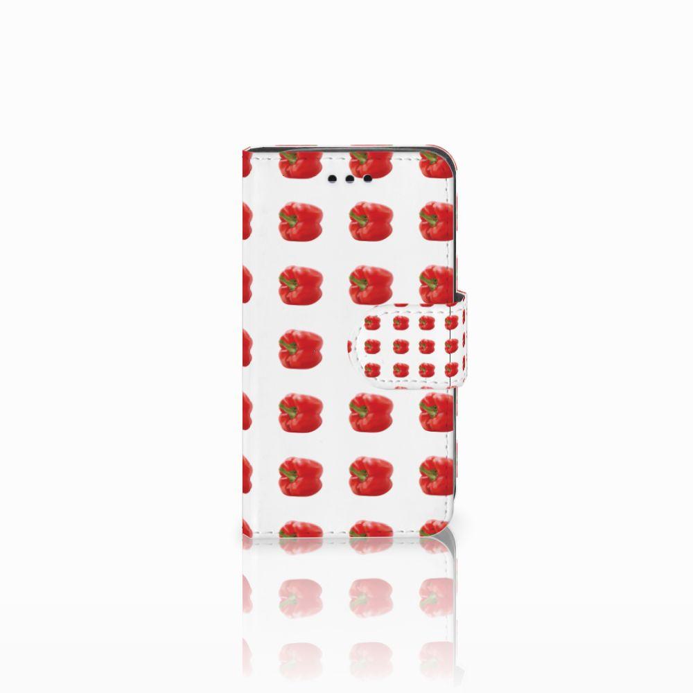 Samsung Galaxy Trend 2 Boekhoesje Design Paprika Red