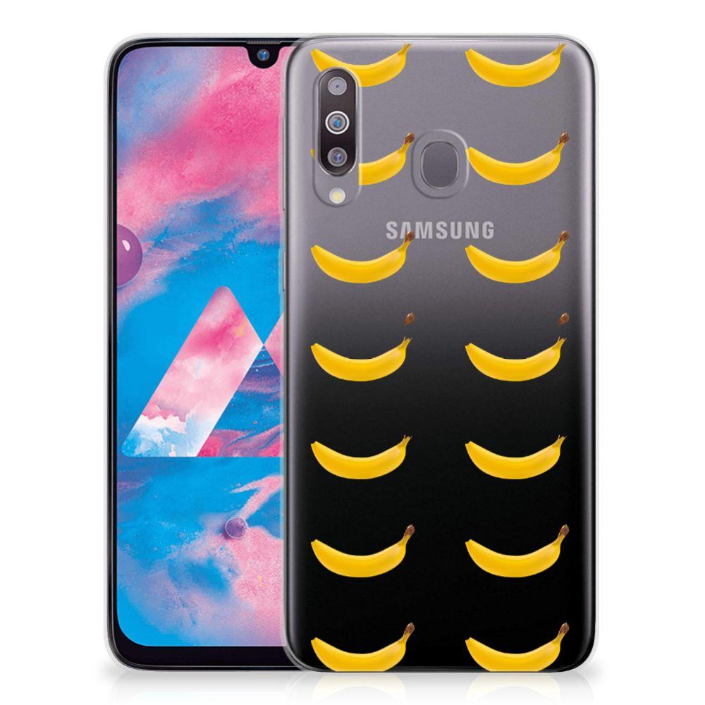 Samsung Galaxy M30 Siliconen Case Banana
