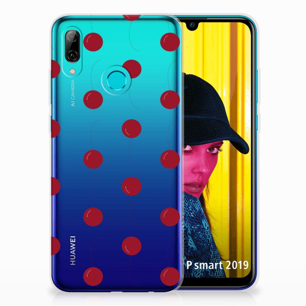 Huawei P Smart 2019 Siliconen Case Cherries