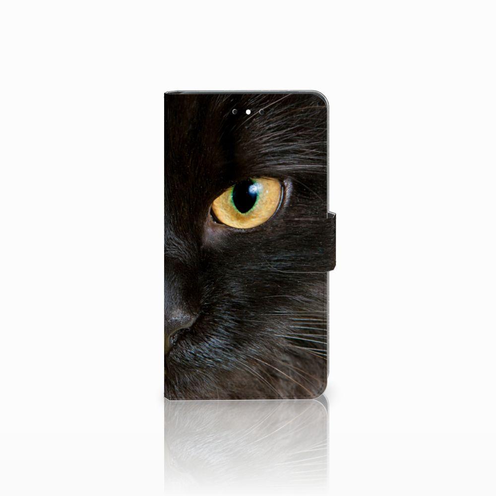 Nokia 2.1 (2018) Uniek Boekhoesje Zwarte Kat